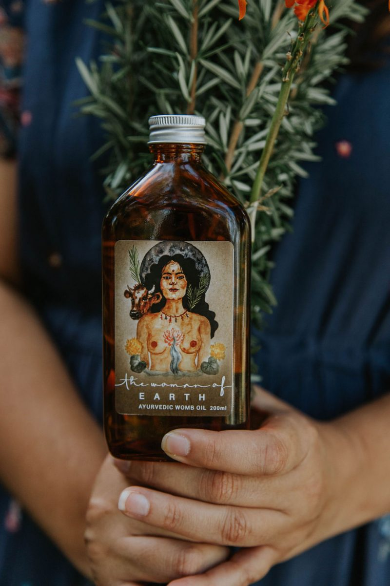 The Woman of Earth Womb Oil